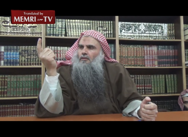 Jordanian Cleric Abu Qatada Al-Filistini Discusses The Protocols of the Elders of Zion, States: Jews Use Blood for Passover Matzos
