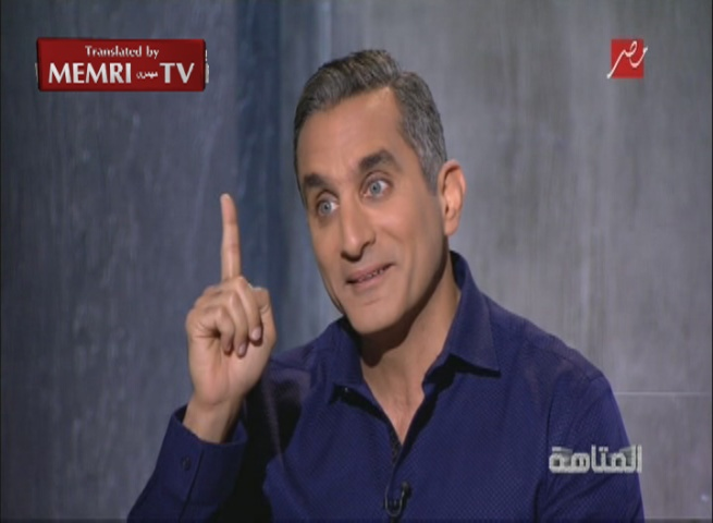 Egyptian Satirist Bassem Youssef: Are We the Only People that Must Be Ruled with an Iron Fist?