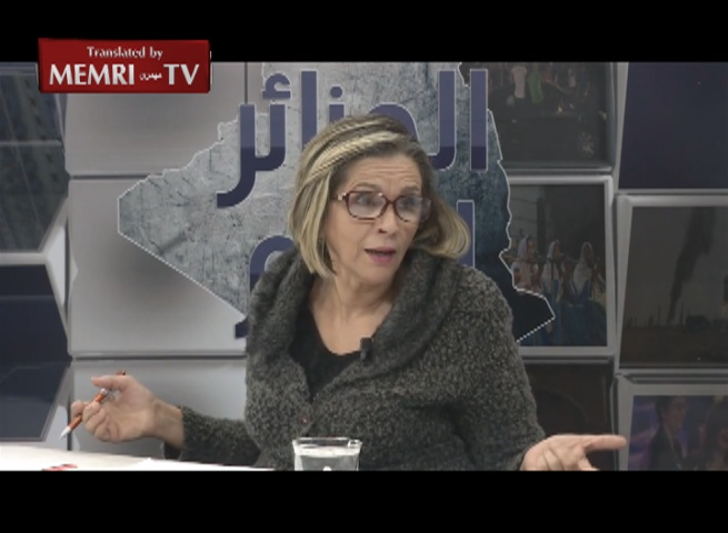 Algerian Feminist Political Activist Aouicha Bekhti: Algeria Is an Amazigh, Not Arab, Country