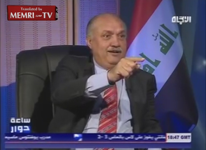 Iraqi MP Mish'an Al-Jabouri: I Took Millions of Dollars in Bribes, All Iraqi Politicians Do