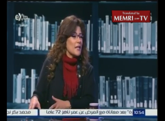Egyptian Journalist Fatima Naout: Egypt Fights Terrorists, But Not Terrorism