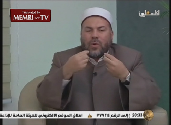 Palestinian Cleric Known for Jihadi and Antisemitic Discourse Speaks out against the Culture of Death