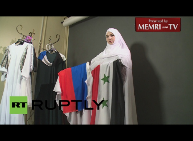 Russian Muslim Designer Celebrates Syria Ceasefire with a New Collection