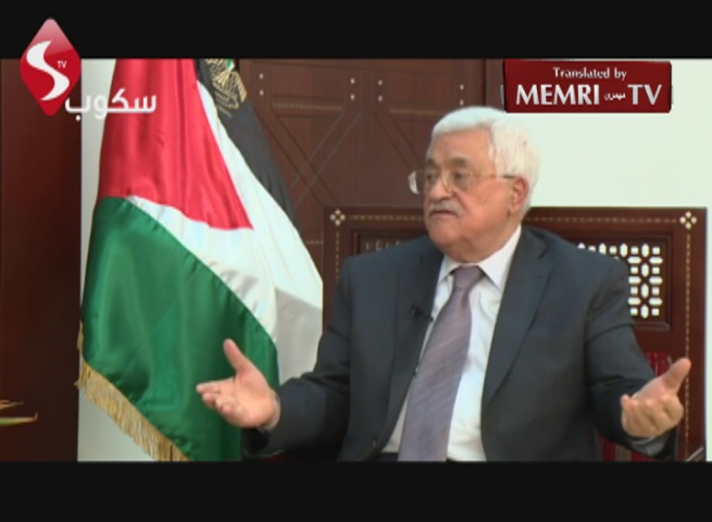Palestinian President Abbas: I Will Not Allow Armed Intifada; Arab Spring Resulted from the Constructive Anarchy Plan