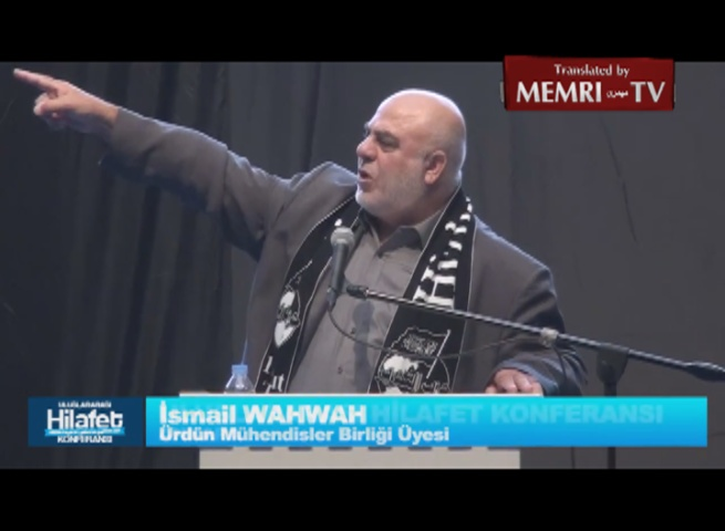 Australian Islamist Leader Ismail Al-Wahwah Calls on Ankara Caliphate Conference Attendants to Lead 'the Armies of Jihad That Will Conquer Europe and America'