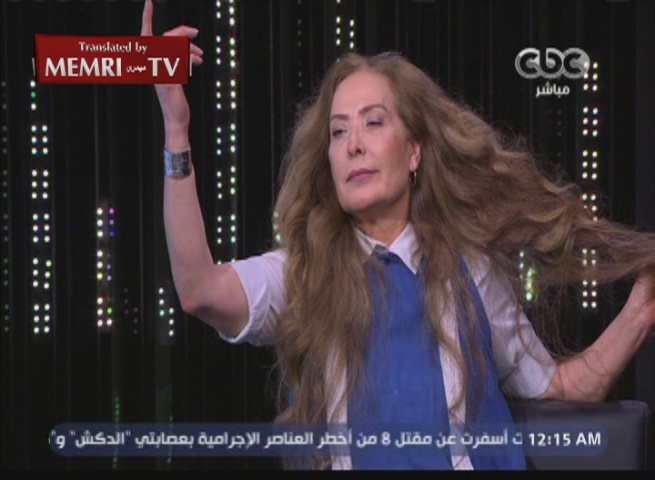 Syrian-Egyptian Actress Raghda: If Al-Assad Resigns, I Will Accuse Him of Treason, Aleppo Was Not Bombed by Planes