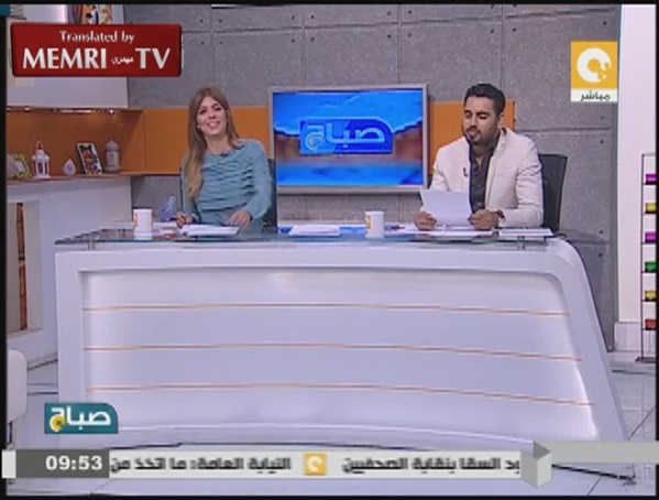 Egyptian Morning Show TV Hosts Wrangle over Al-Assad's Responsibility for Syria Crisis
