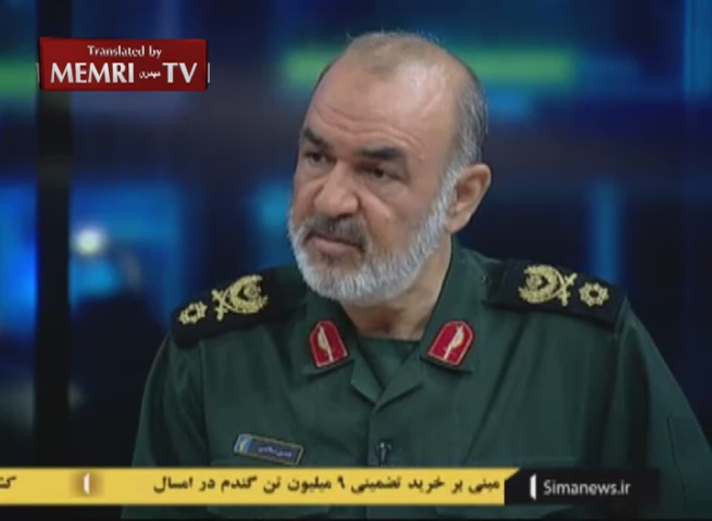 IRGC Deputy Commander Salami Threatens to Prevent the U.S. from Free Passage through the Hormuz Strait