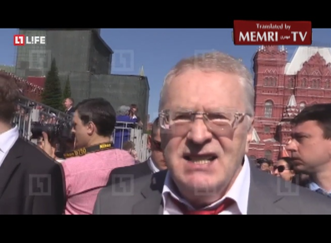 Senior Russian Politician Zhirinovsky: U.S., Britain Do Not Know How to Fight; Post-Soviet Republics Behave Like Whores