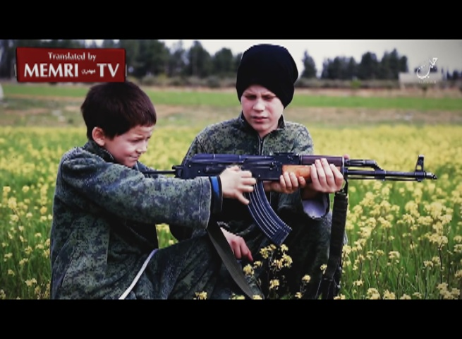 Children of French ISIS