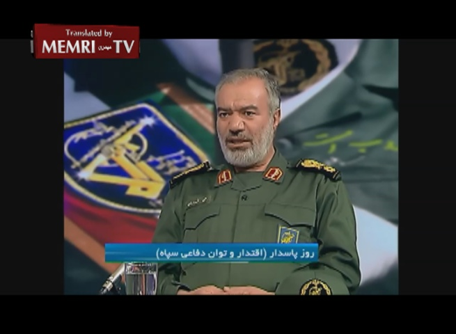 IRGC Navy Commander Fadavi: American Vessels Will Be Sunk in the Persian Gulf If They Make the Slightest Mistake