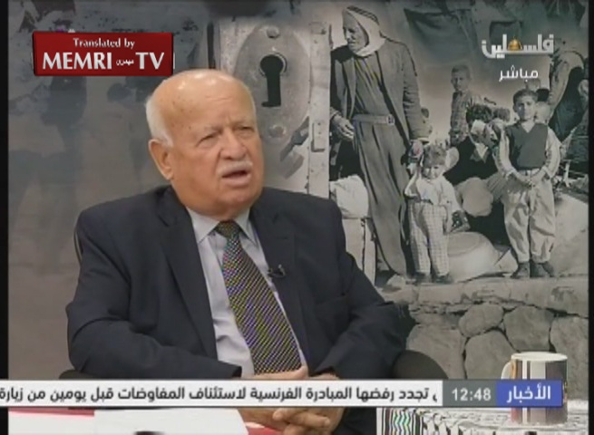 Fatah Official Zakaria Al-Agha: Right of Return to Israel, Not to the Palestinian State