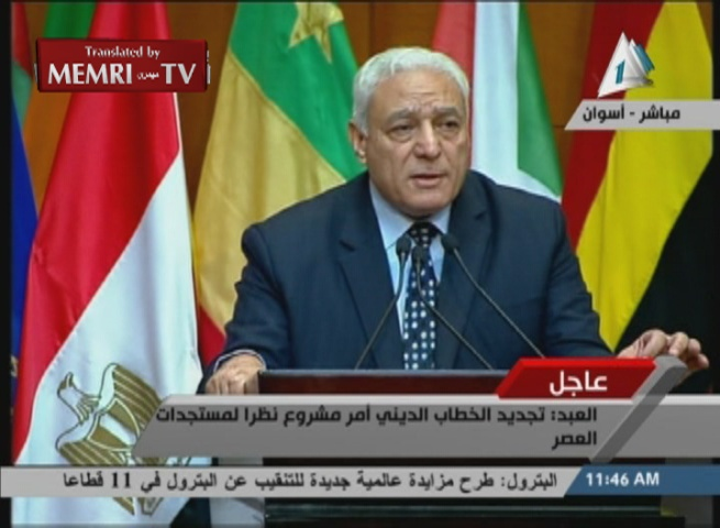 Former President of Al-Azhar University Osama Al-'Abd: We Must Reform Our Religious Discourse to Confront the Extremists