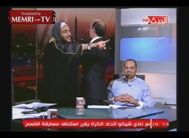 Astrologist Predicts the End of the World, Cleric Assaults Him with a Shoe