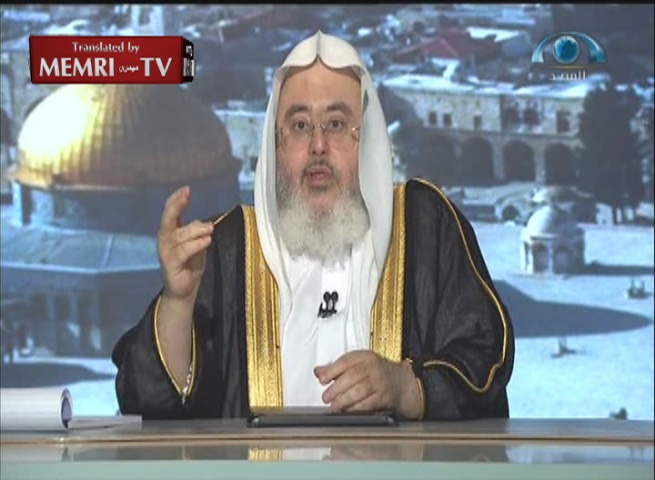 Saudi Cleric Muhammad Al-Munajid: Our War with the Jews, the Plague of History, Will Continue to the End of Time