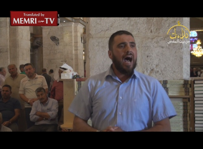 Al-Aqsa Mosque Address: Preacher Ali Abu Ahmad Prays for Annihilation of the Jews