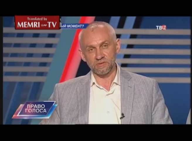 Senior Russian Researcher Vladimir Shapovalov: The U.S. Has Convinced Us That It Cannot Be Trusted