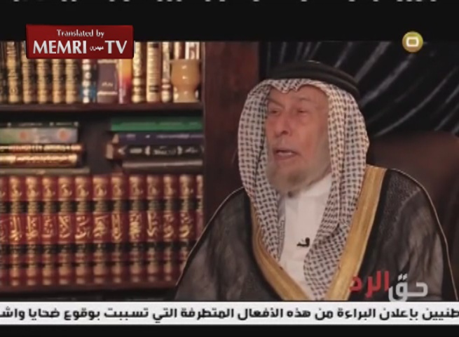 Sunni Iraqi Cleric Al-Kubeisi: ISIS is a Marionette in the Hands of Netanyahu; Al-Baghdadi Stupid, Cannot Be Held Accountable