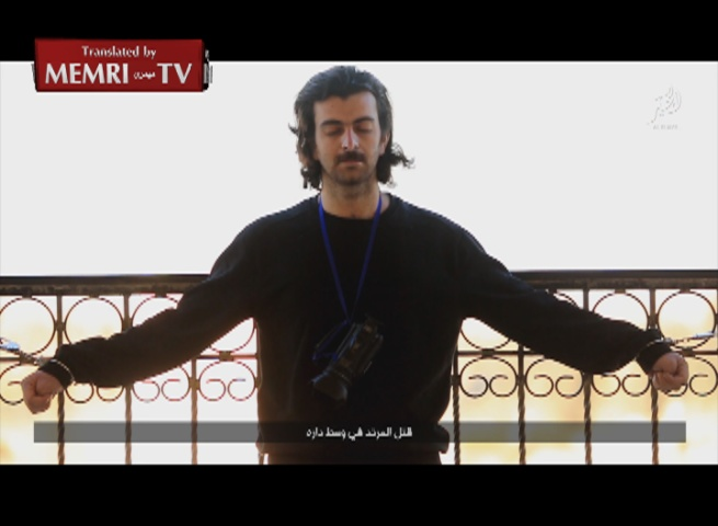 ISIS Executes Journalists in Deir Al-Zour, Threatens Colleagues Living in the West - Warning: Graphic.
