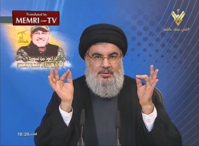Hassan Nasrallah: Hizbullah's Money and Missiles Reach Us Directly from Iran, No Law Will Prevent This