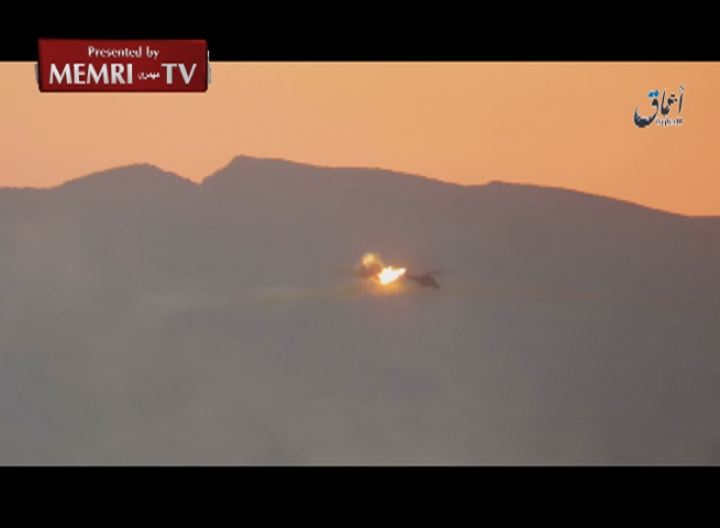 ISIS Shoots Down Russian Military Helicopter East of Palmyra, Syria