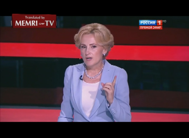 Senior Russian Ruling Party Politician Yarovaya Following NATO Summit: The U.S. Is Capable Only of Plundering and Lying