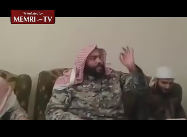 Jihadist Abdallah Al-Muhaisni in Pep Talk before the Battle for Aleppo: Where Are the People Who Want 72 Beautiful Wives from Among the Virgins of Paradise?