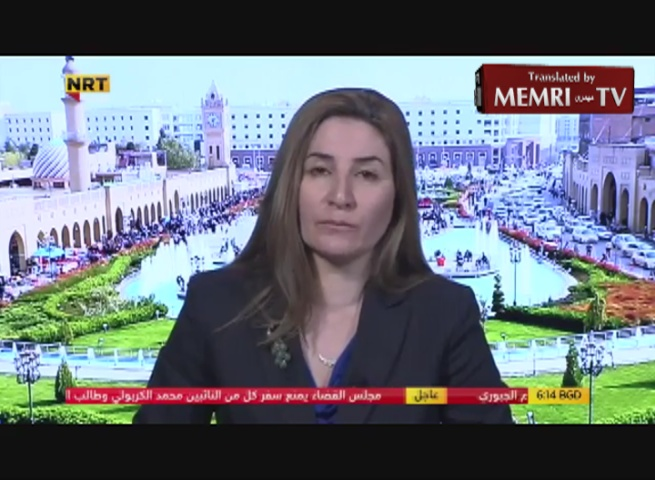 Iraqi MP Vian Dakhil: The Only Way to Save Kidnapped Yazidi Women Is to Buy Them from ISIS