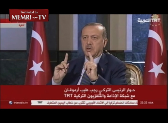 Turkish President Erdoǧan: The West Cannot Split Turkey or Subdue the Will of the Turkish People