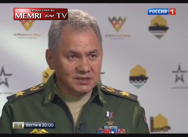 Russian Defense Minister Sergey Shoigu: We Say to Our American and NATO Colleagues: There Is a Balance of Power; Don't Fan the Flames of Hysteria