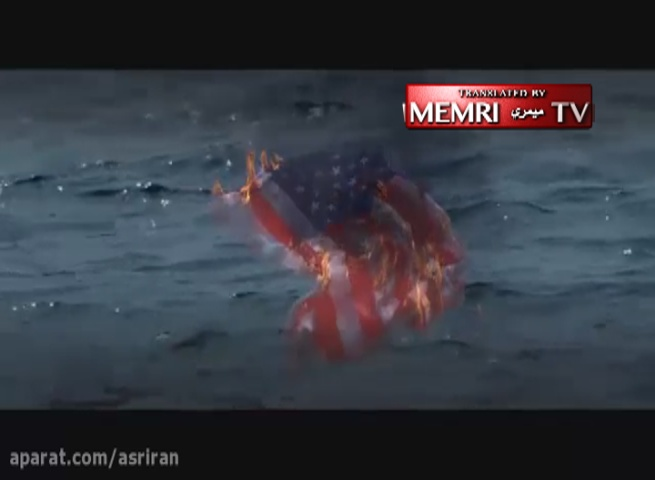 Anti-American Propaganda Film Shows Young Iranians Destroy U.S. Aircraft Carriers with Battle Cries