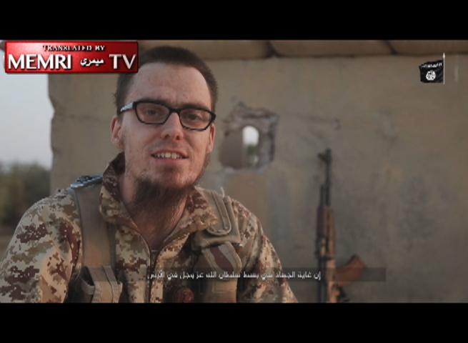 ISIS Video: German Fighter Urges Muslims in the West to Carry Out Attacks in Their Home Countries – Warning: Graphic Images