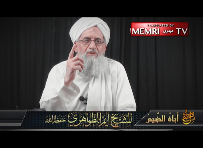 Al-Qaeda Leader Al-Zawahiri in 9/11 Anniversary Message: As Long as Your Crimes Continue, the Events of 9/11 Will Be Repeated Thousands of Times