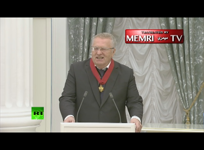 Russian Parliamentary Party Leader to Putin: God Save the Tzar