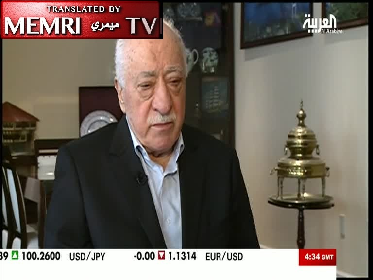 Turkish Opposition Leader in Exile Fethullah Gülen Compares Erdoğan to Hitler and Saddam