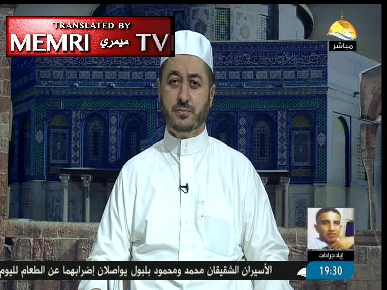 Hamas TV Host Sheikh Wael Al-Zarad: Israel, the Jews Live on Blood and the Sight of Body Parts